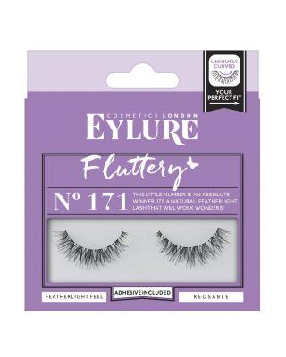 ciglia finte intere naturali linea eyelure fluttery n. 177